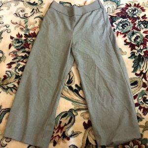 Zara Mid-Calf Trousers Size XS